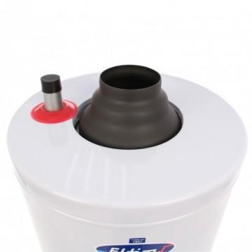 Poza Boiler zincat si izolat ELTIM 90 litri - detaliu racord apa calda si la cos