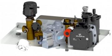 Poza Centrala termica pe gaz in condensatie MOTAN CONDENS PLUS 100 - grup hidraulic si vana de gaz
