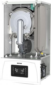 Poza Centrala termica pe gaz in condensatie MOTAN CONDENS 100 25 kW - vedere fara capac