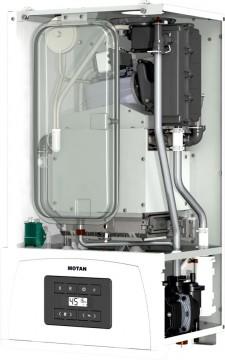 Poza Centrala termica pe gaz in condensatie MOTAN CONDENS 050 24 kW - vedere fara capac