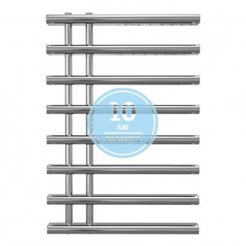 Poza Radiator port-prosop decorativ cromat RADOX LINX - vedere din fata