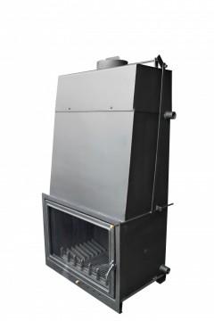 poza Termosemineu pe lemn tip insert IBM 30 33 kW